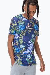 HYPE NAVY ROSE MEN'S T-SHIRT