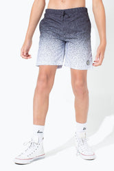 HYPE MONO SPECKLE FADE KIDS SWIM SHORTS