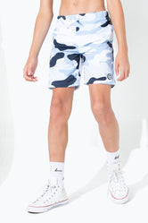 HYPE MONO CAMO KIDS BOARD SHORTS