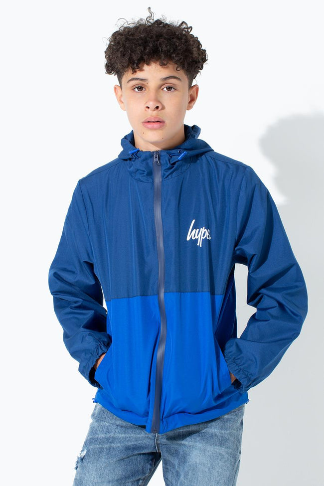 HYPE PANEL SCRIPT KIDS RUNNING JACKET