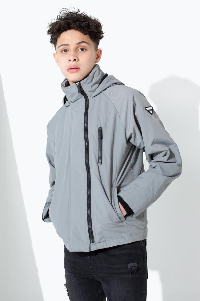HYPE CHARCOAL CREST KIDS STARBOARD JACKET