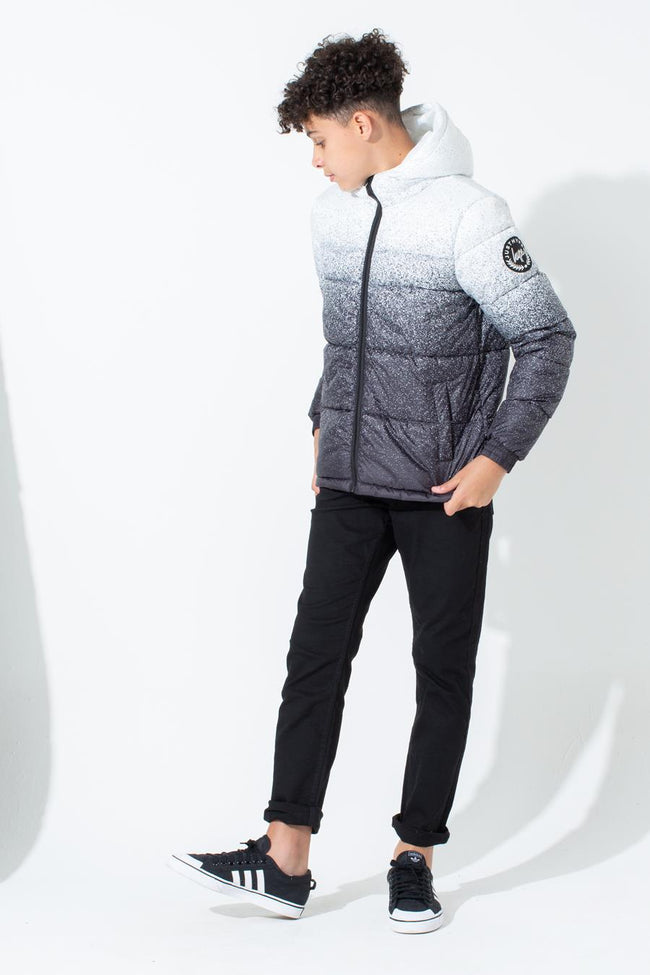 HYPE SPECKLE FADE KIDS PUFFER JACKET