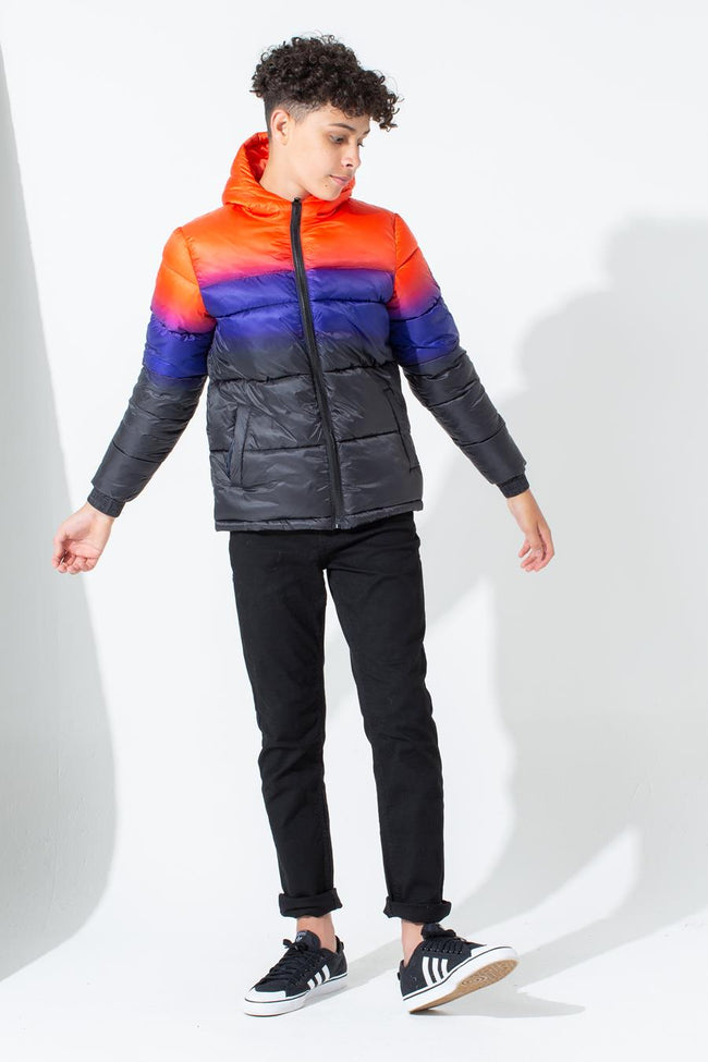 HYPE SUNBEAM FADE KIDS PUFFER JACKET
