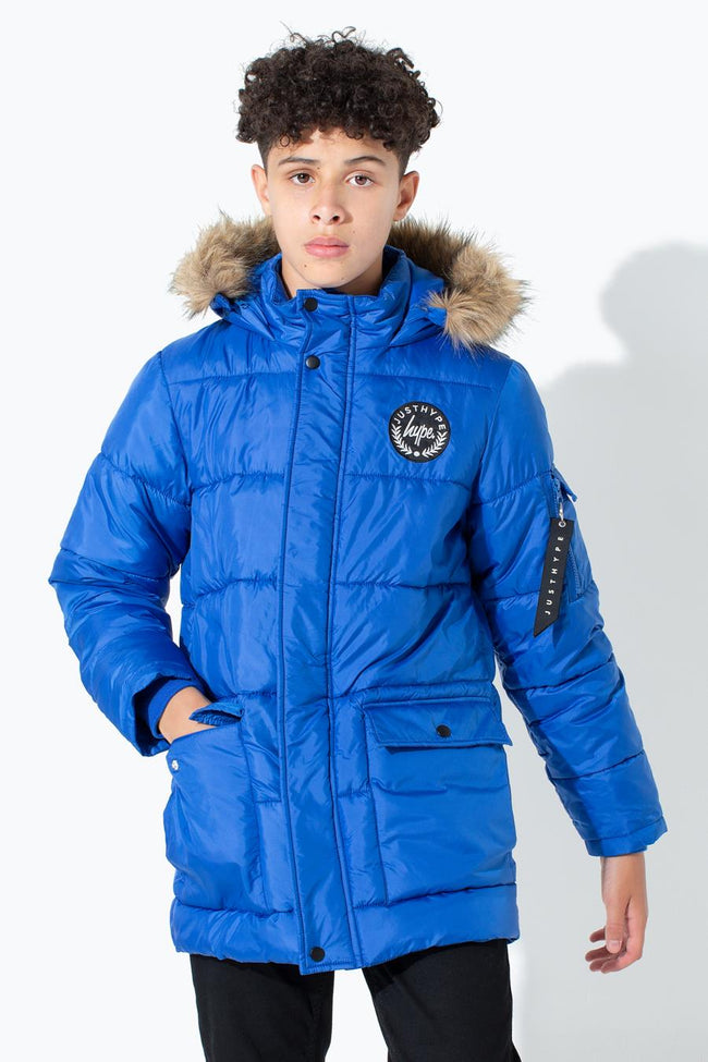 HYPE BLUE CREST KIDS EXPLORER JACKET