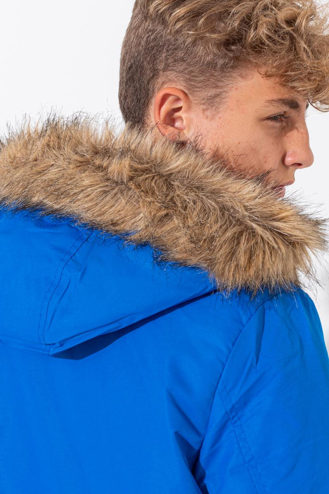 HYPE BLUE CREST SLEEVE KIDS GLACIAL JACKET