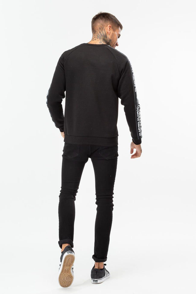 HYPE SPECKLE TAPE MENS CREW NECK