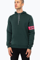 HYPE FOREST JH STRIPE MENS PULLOVER HOODIE