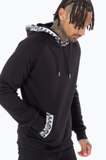 HYPE SPECKLE TAPE MENS PULLOVER HOODIE