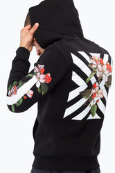 HYPE CHEVRON BLOOM MEN'S PULLOVER HOODIE