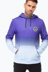 HYPE BLUE FADE MENS PULLOVER HOODIE