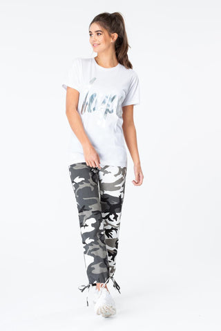 HYPE IRIDESCENT SCRIPT WOMENS T-SHIRT