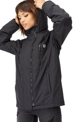 HYPE BLACK CREST WOMENS STARBOARD JACKET