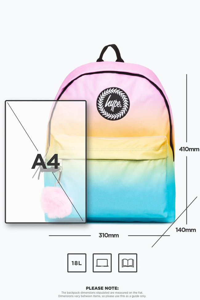 HYPE SOUR FADE BACKPACK