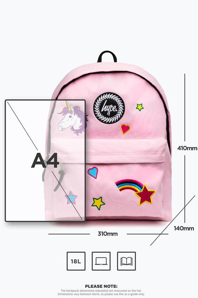 HYPE PINK STAR BACKPACK