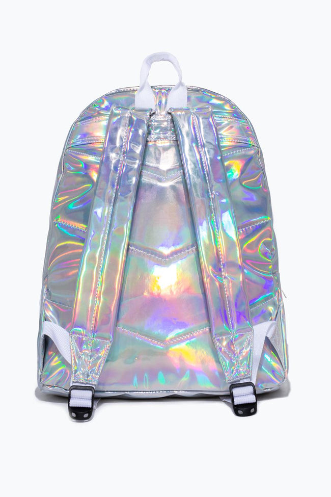 HYPE IRIDESCENT BUCKLE BACKPACK
