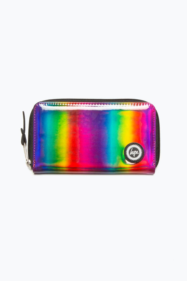 HYPE RAINBOW HOLOGRAPHIC PURSE