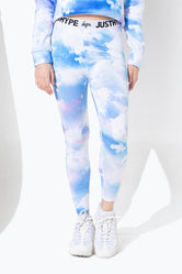 HYPE RAINBOW STAR KIDS LEGGINGS