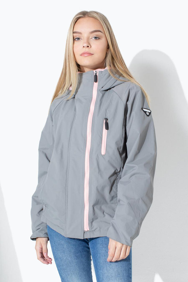 HYPE GREY STARBOARD KIDS JACKET