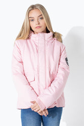 HYPE PINK GLACIAL KIDS JACKET