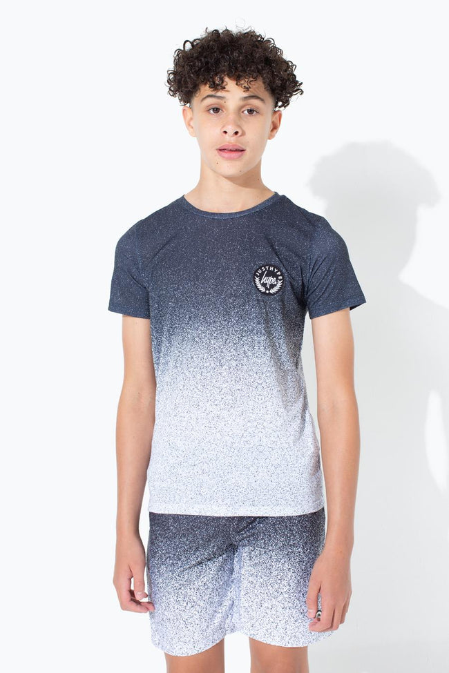 HYPE MONO SPECKLE FADE KIDS T-SHIRT