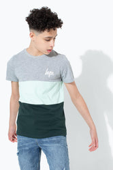 HYPE TRI PANEL KIDS T-SHIRT