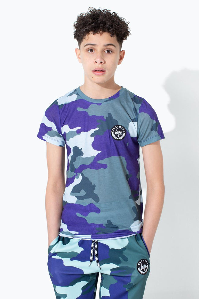 HYPE FOREST CAMO KIDS T-SHIRT