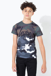 HYPE HALF CAMO KIDS T-SHIRT