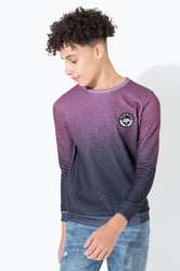 HYPE SPECKLE FADE KIDS CREW NECK
