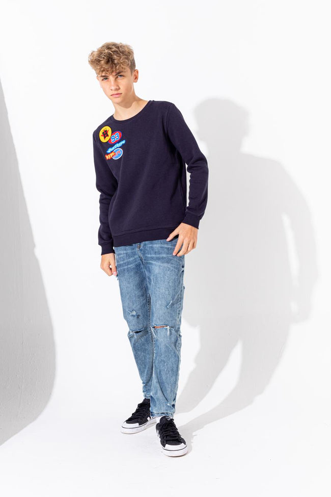 HYPE AMERICAN OIL KIDS CREW NECK