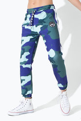 HYPE FOREST CAMO KIDS TRACK PANTS