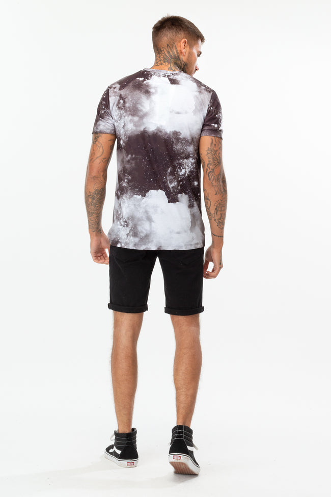 HYPE BLACK SPACE MEN'S T-SHIRT
