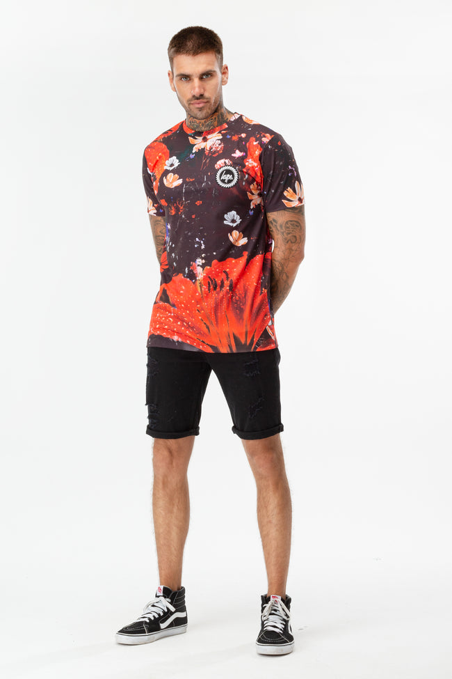 Hype Floral Storm Men'S T-Shirt