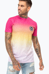 HYPE IBIZA SPECKLE FADE MEN'S T-SHIRT