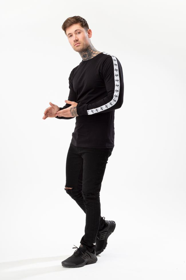 HYPE BLACK TAPE SLEEVE MEN'S L/S T-SHIRT