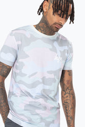HYPE PISTACHIO CAMO MEN'S T-SHIRT