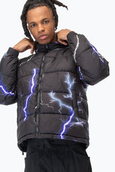 HYPE LIGHTNING MEN'S PUFFER JACKET