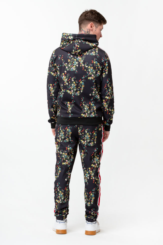 HYPE DITSY FLORAL MEN'S TRACK HOOD
