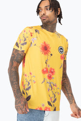 HYPE YELLOW WOOD MEN'S T-SHIRT