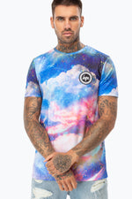 HYPE SUNSET SPACE MEN'S T-SHIRT