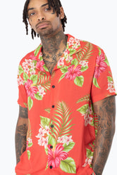 HYPE RED HAWAII MEN'S SHIRT