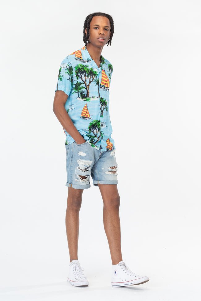 HYPE ISLAND LIFE MEN'S SHIRT