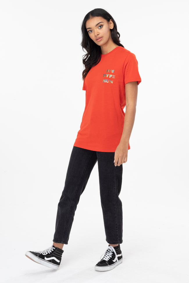 HYPE RED HUN WOMEN'S T-SHIRT