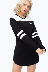 HYPE BLACK HOCKEY WOMEN'S T-SHIRT DRESS