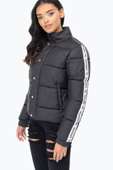 HYPE JH RACE WOMEN'S CROP PUFFER JACKET