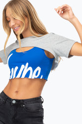 HYPE SCRIPT EP WOMEN'S CROP T-SHIRT