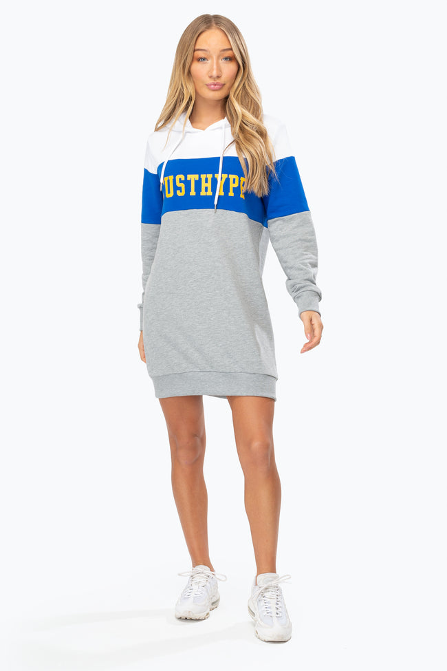 HYPE RETRO SPORT WOMEN'S HOODIE DRESS