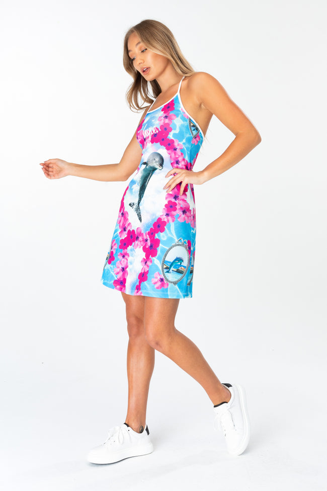 HYPE DOLPHIN DREAMS WOMEN'S TENNIS DRESS