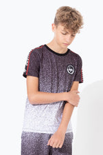 HYPE JH RACE TAPE SPECKLE FADE KIDS T-SHIRT