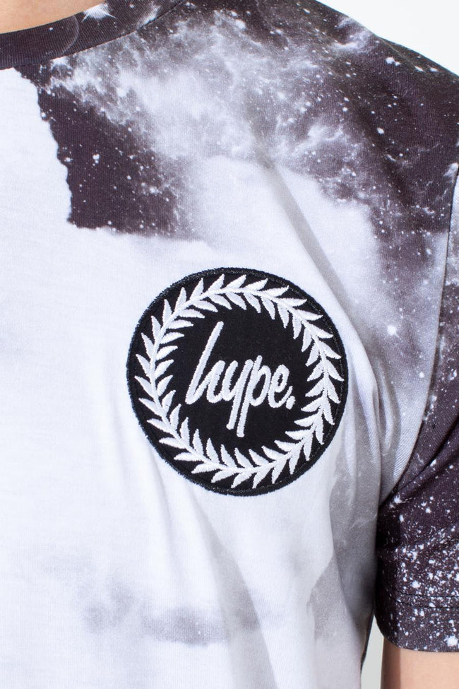 HYPE BLACK SPACE KIDS T-SHIRT