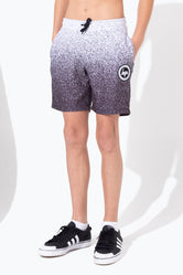 HYPE MONO SPECKLE FADE KIDS SHORTS